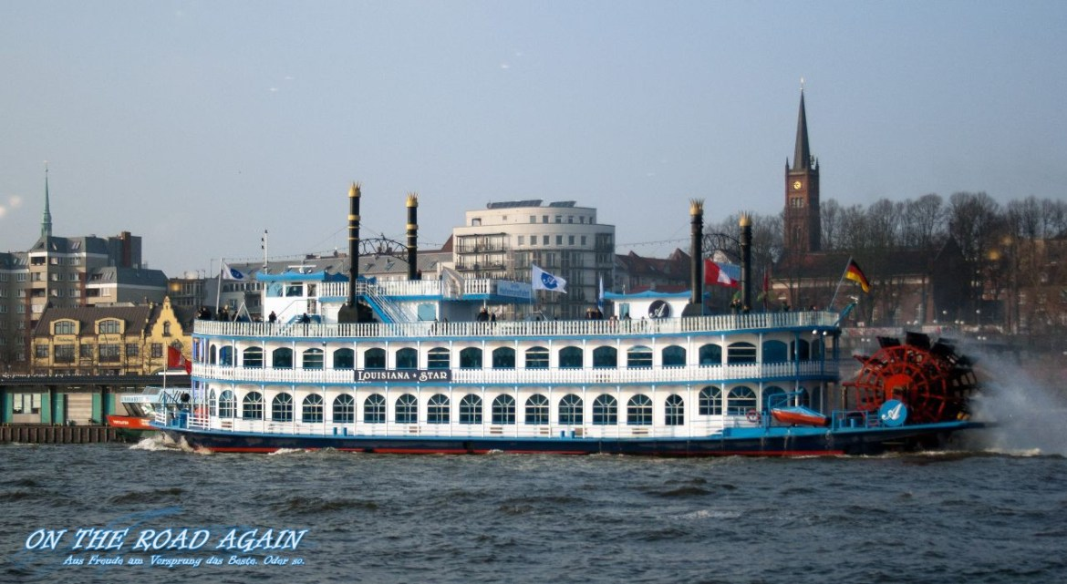 Louisiana Star im Hamburger Hafen