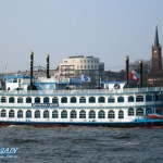 Louisiana Star im Hamburger Hafen