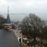 Panorama über Blankenese vom Turm Hotel Süllberg
