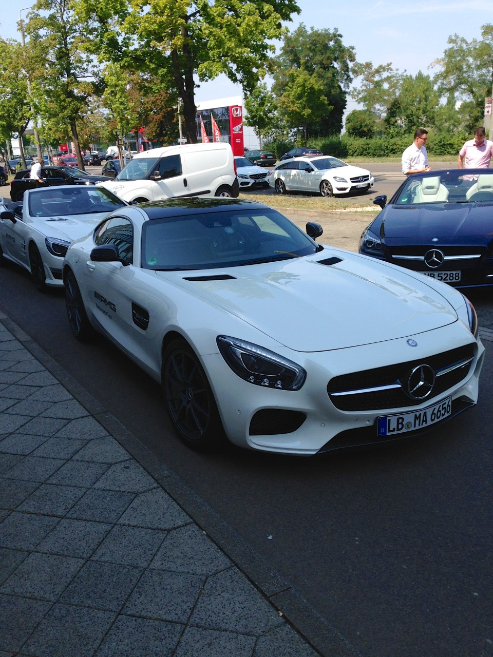 AMG Performance Tour - AMG GT S Front