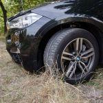 BMW X6 M50d am Limit