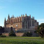 Kathedrale von Palme de Mallorca. Schnappschuss