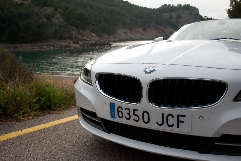 BMW Z4 am Meer