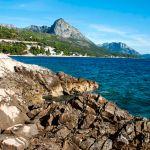Felsküste vor Dalmatien, Kroatien