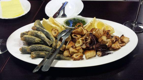 Seafood Platte in Ljubljana
