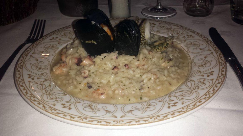 Seafood Risotto Restaurant Nostromo Split