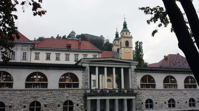 eklektischer Baustil in Ljubljana