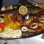 kroatische Fleisch- und Fischplatte