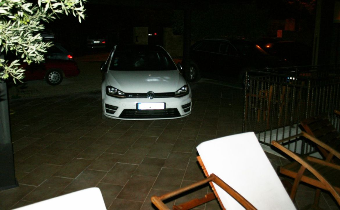 Golf R am Pool von Casa Alice