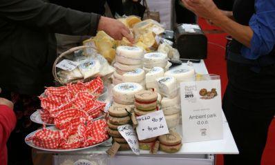 Käse auf den Zigante Truffel Days