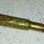 Kugelschreiber aus Munitionshülse in Mostar
