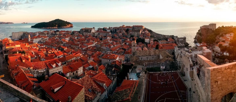 Panorama Altstadt Dubrovnik