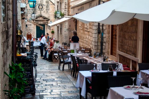 Restaurants in Dubrovnik