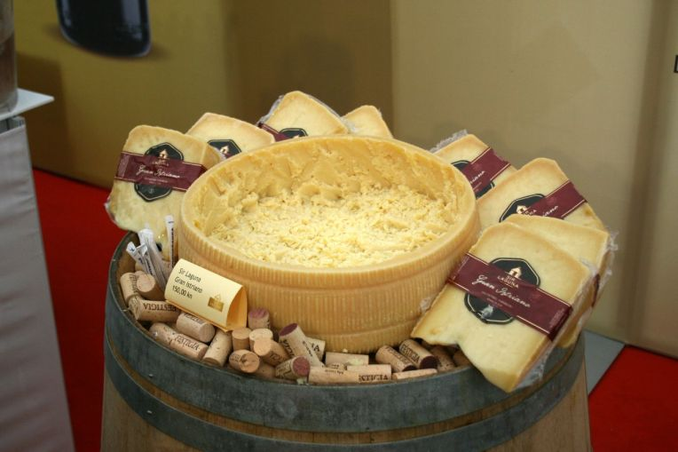 Trüffelkäse zum probieren Interational Gourmet Expo