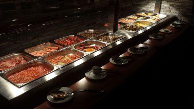Warme Speisen Frühstück Hotel Loft