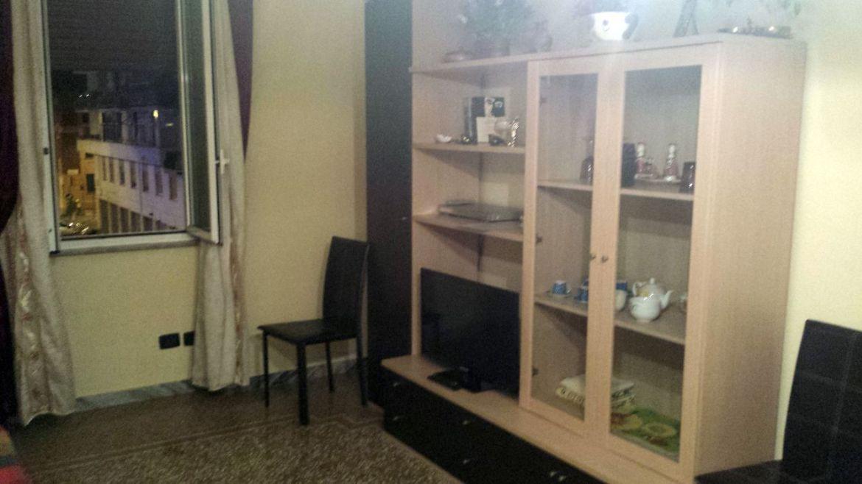 Ferienwohnung Rom Wohnzimmer