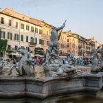 Fontana del Nettuno, Piazza Navona, Roma