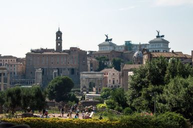 Forum Romanum und Nationalmonument