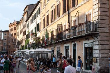 Häuserfront am Piazza Navona