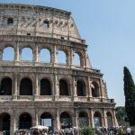 Kolosseum in Rom Eingang