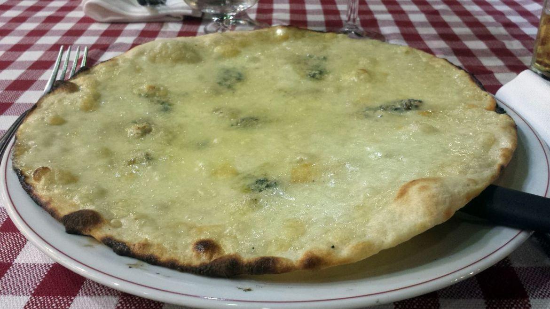 Pizza Quattro Formagi, La Fiorentina, Rom