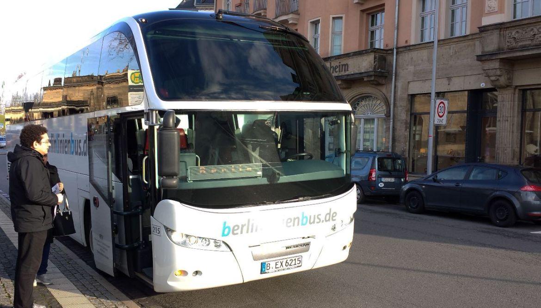 BLB Bus von Dresden nach Berlin