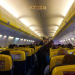 Ryanair Flieger Interieur