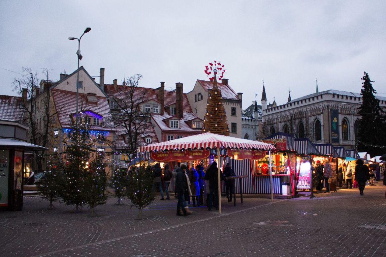 Weihnachtsmarkt in Riga