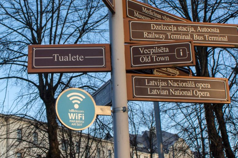 WiFi in Riga