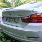 BMW 435d xDrive Gran Coupé Heckansicht