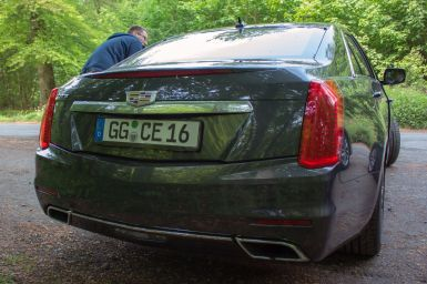 Cadillac CTS 2.0T Heckansicht