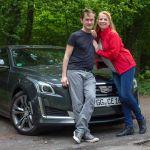 Team Auto-Diva – Nicole und Bernhard mit Cadillac CTS 2.0T