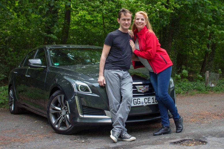 Team Auto-Diva - Nicole und Bernhard mit Cadillac CTS 2.0T
