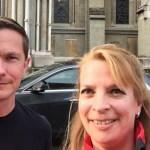 Team Auto-Diva an der Kathedrale von Lausanne