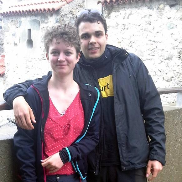 Team Connie & Blyde am Rheinfall