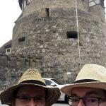 Team Strohhut am Schloss in Liechtenstein