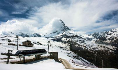Gifthittli Sesselbahn, Gornergrat, Zermatt
