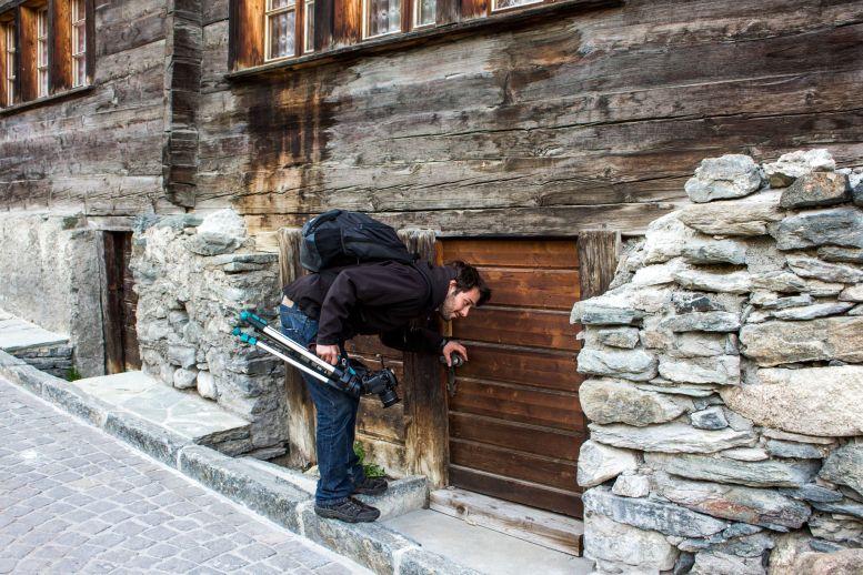 Kleine Türen in Zermatt