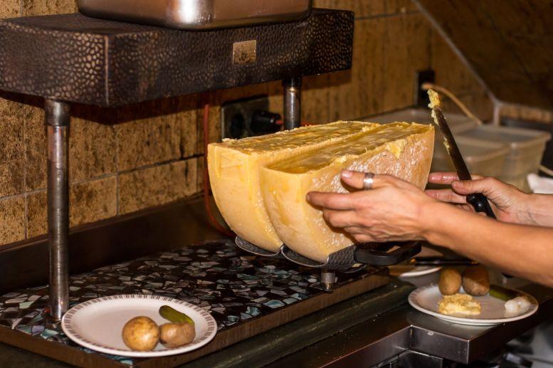 Original Schweizer Raclette