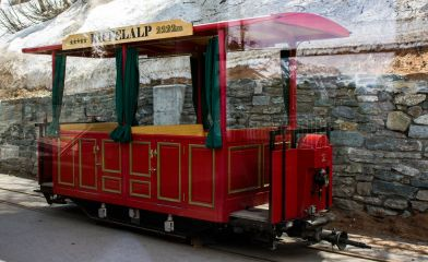 Wagon Riffelalpbahn