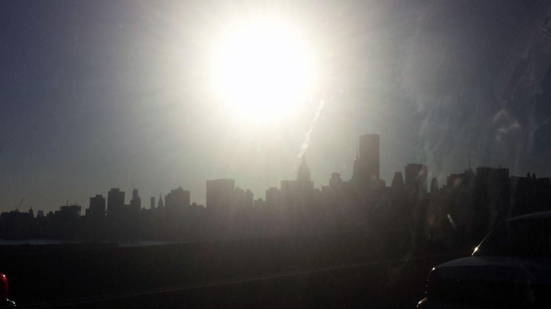 Sonne über Manhattan