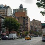 typische Straße in New York City