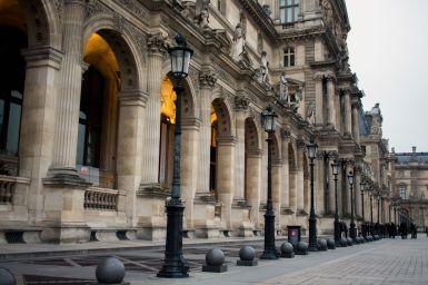 Louvre Fassade