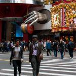 Jaywalking in New York