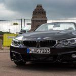 BMW 420d Cabrio von Oben Ohne
