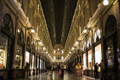 Einkaufspassage in Brüssel