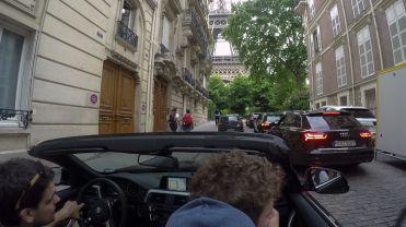 Fahrt zum Eiffelturm