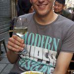 Soupe a l'Oignon und Sancere im Cafe de Paris