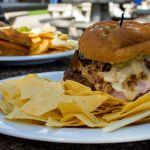 Burger auf Ellis Island