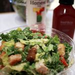 Caesar Salad bei fresh&co New York City